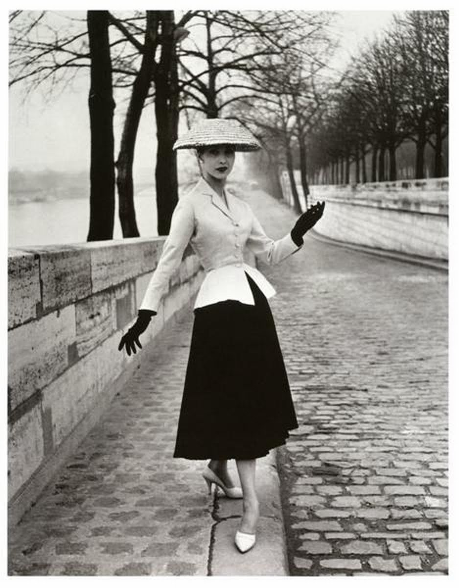 The Nostalgic Series New Look Dior 1947 Reaction Belle Poque Influence Women In Society