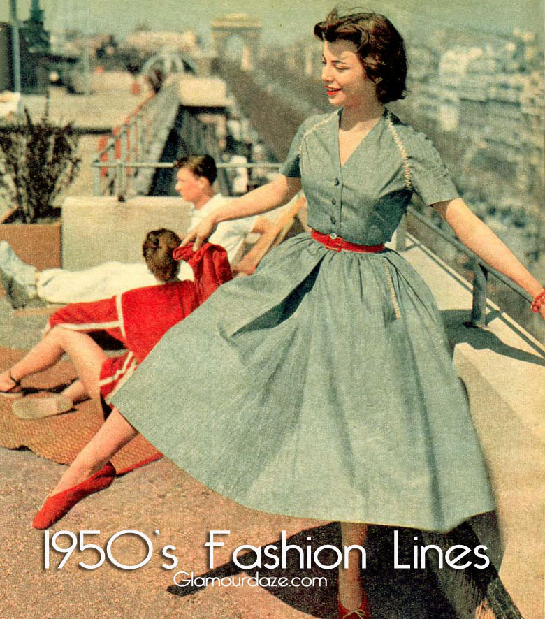 Fashion History—Women's Clothing of the 1950s