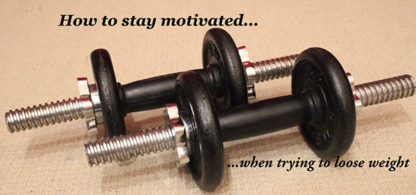 how to stay motivated lifting weights