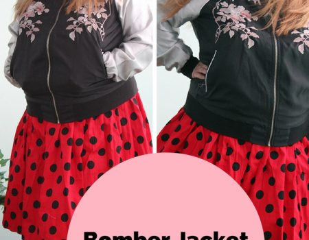 Bomber Jacket & Lady Bug skirt