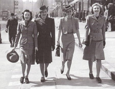 The Nostalgic Series: 1940s Fashion and Style Trends