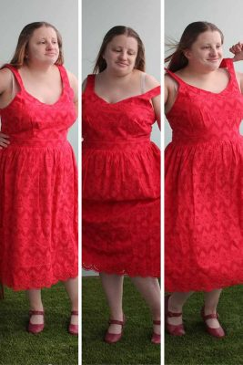The Last of The Summer Red Dress