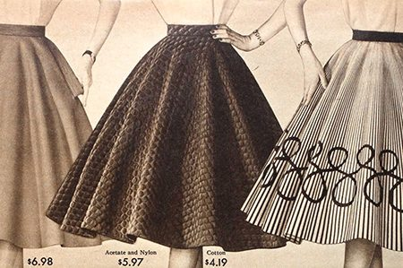 A Fashion Guide on 1950s skirts