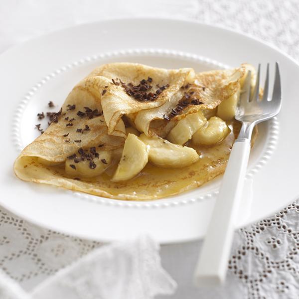 Lyle's Banana Choc Pancakes