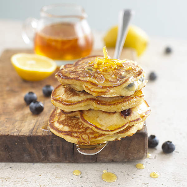 Lyle's Blueberry and Lemon Syrup Stack