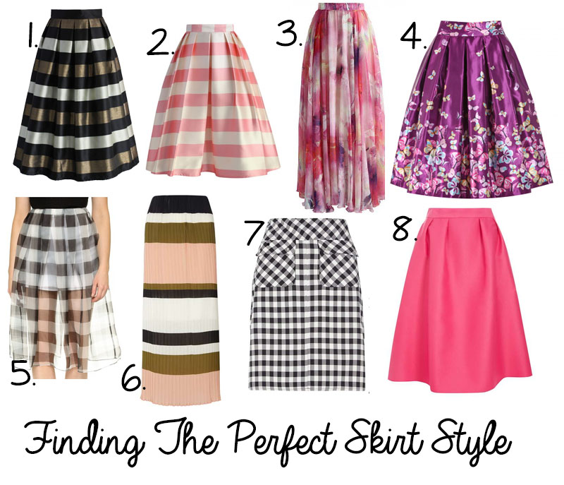 Finding the Perfect Skirt Style 1