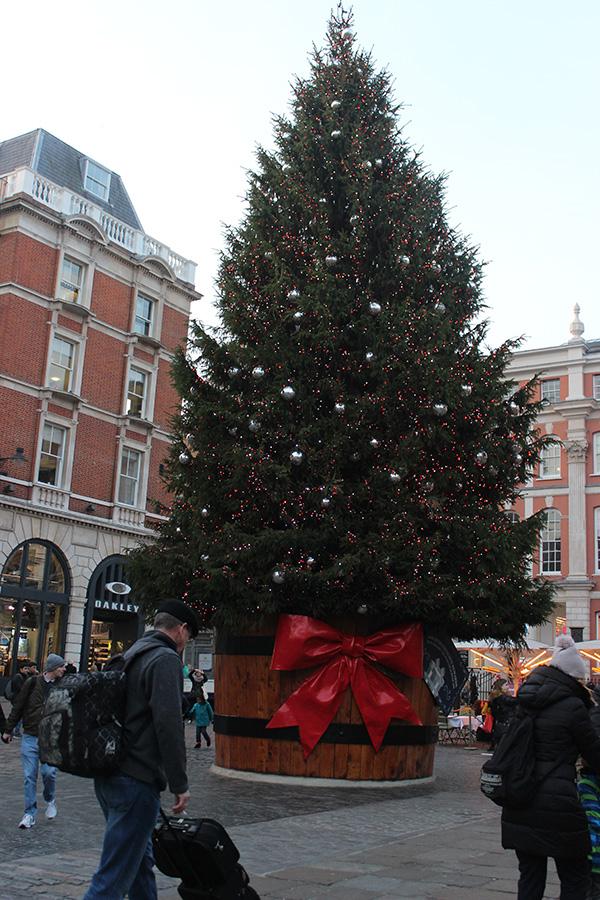 Covent Garden Christmas magic
