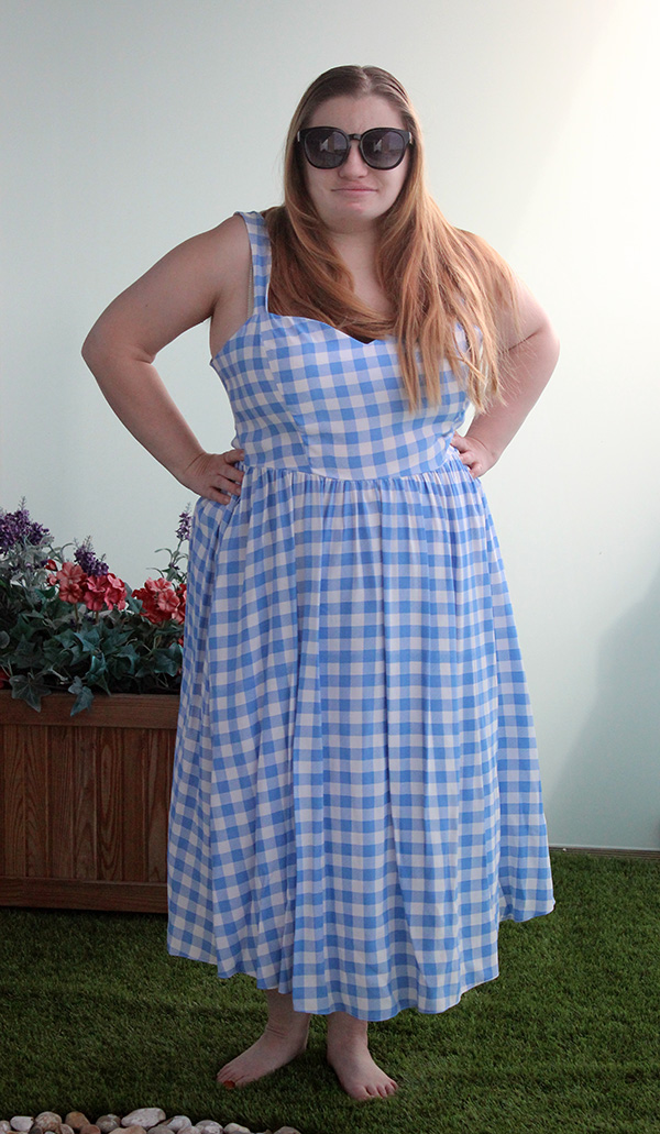 on the hunt for a Dorothy dress