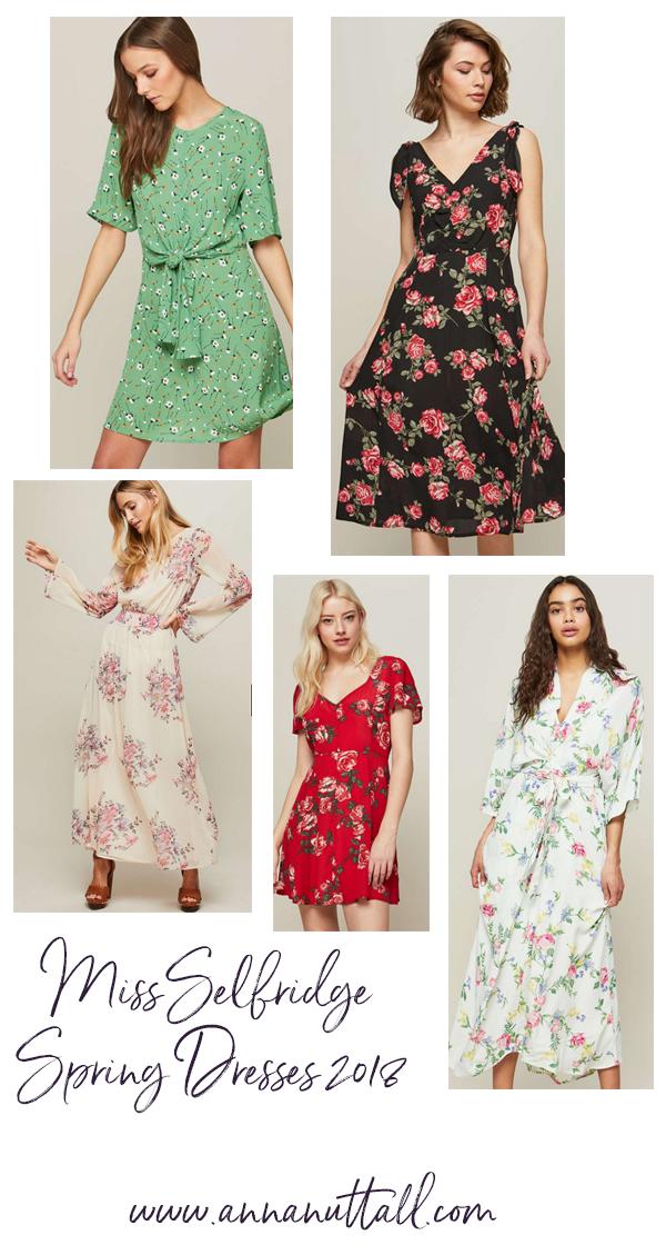 Miss Selfridge spring dresses 2018