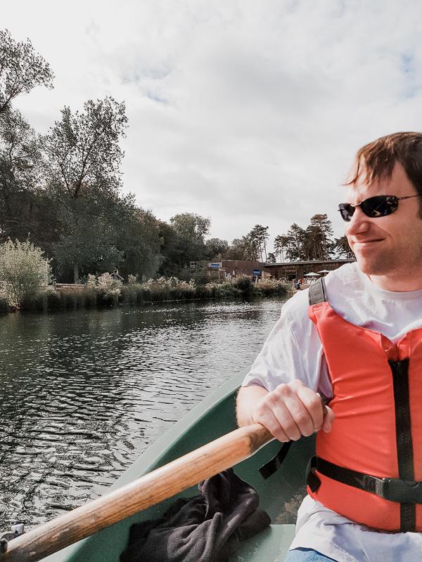 rowing at center parcs woburn