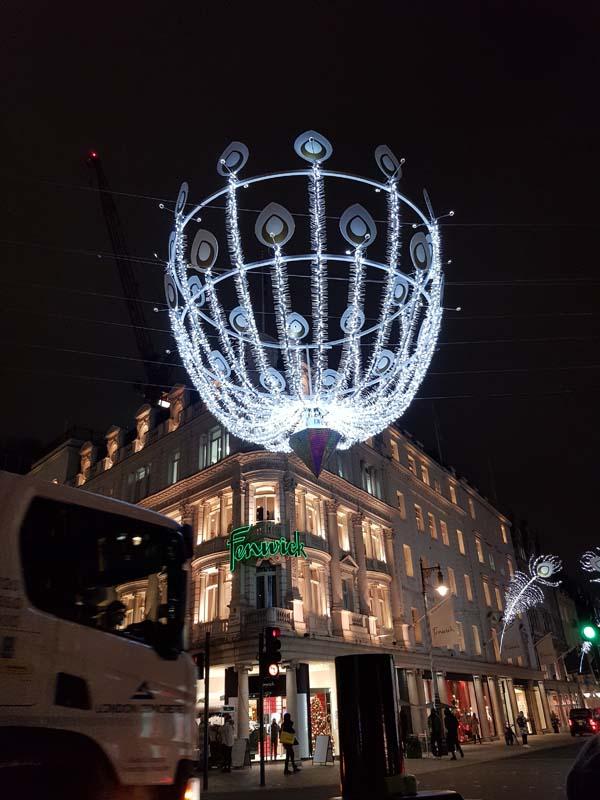 Oxford Street Christmas Lights london